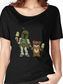 Boba and Wicket - BFFs Women's Relaxed Fit T-Shirt
