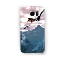 dragon over the mountain Samsung Galaxy Case/Skin