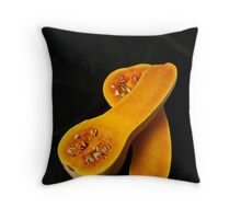 Butternut Squash Throw Pillow