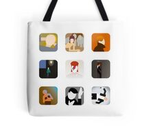 There's an app for that Bowie Tote Bag