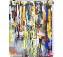 World beneath the Sky, abstract landscape art painting iPad Case/Skin