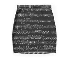 Sonata violin Beethoven Mini Skirt