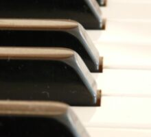 Piano keys Sticker
