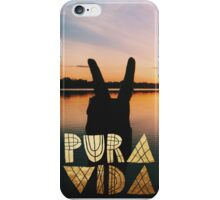 PURA VIDA 2 iPhone Case/Skin