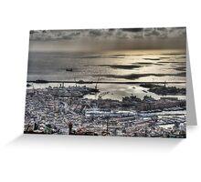 Genoa Port Greeting Card