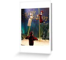 Christmas Childhood Memories Greeting Card
