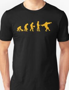 The Big Lebowski evolution yellow T-Shirt