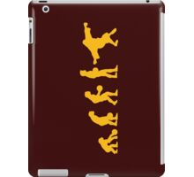 The Big Lebowski evolution yellow iPad Case/Skin