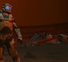 COMMAND THIS IS PATROL  T31  REPORTING  THERE IS NO ACTIVITY  HERE AT  THE RED SAND BASE I AM AWAITING ORDERS   by Michael Beers