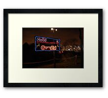 Festival of Lights - Lights go out for Commonwealth Edision  Framed Print