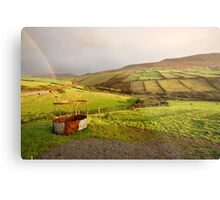 A pot of gold in the fields of Kerry Metal Print