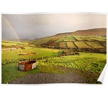 A pot of gold in the fields of Kerry Poster