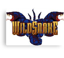 WildSnake Canvas Print