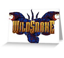WildSnake Greeting Card
