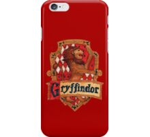 Gryffindor House Crest iPhone Case/Skin