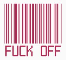 Fuck Off Barcode by deathspell