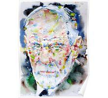 SIGMUND FREUD - watercolor portrait.2 Poster