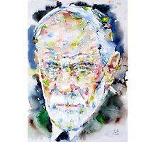 SIGMUND FREUD - watercolor portrait.2 Photographic Print