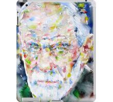SIGMUND FREUD - watercolor portrait.2 iPad Case/Skin