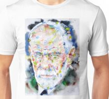 SIGMUND FREUD - watercolor portrait.2 Unisex T-Shirt