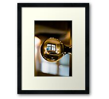 Bed Knobs and.....4! Framed Print
