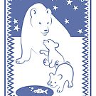 Polar bears by Alice in Underland