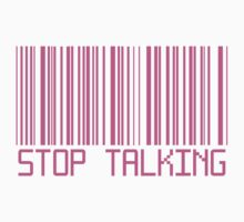 Stop Talking Barcode by deathspell