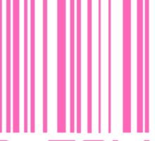 Stop Talking Barcode Sticker