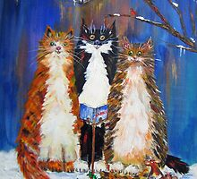 We Three Cats of..... by mohawkshed