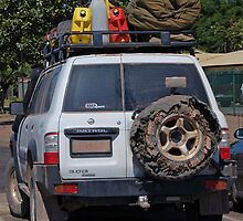 CHECK OUT THE SPARE TYRE! by Adrian Paul