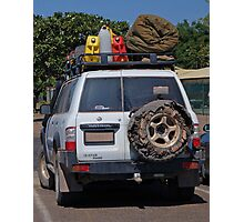 CHECK OUT THE SPARE TYRE! Photographic Print