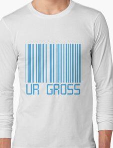 Ur Gross Barcode Long Sleeve T-Shirt