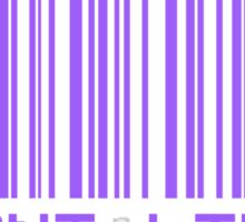 I Don't Like You Barcode Sticker