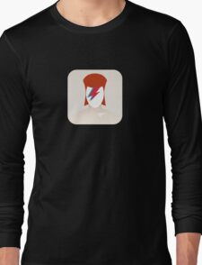 There's an app for that Aladdin Sane Long Sleeve T-Shirt