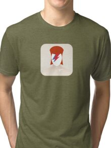 There's an app for that Aladdin Sane Tri-blend T-Shirt