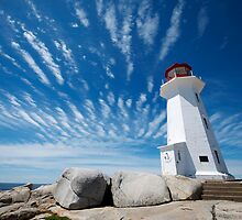 Peggy's Cove by powerpig