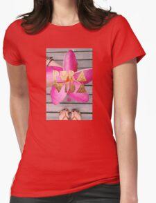 PURA VIDA 3 Womens Fitted T-Shirt