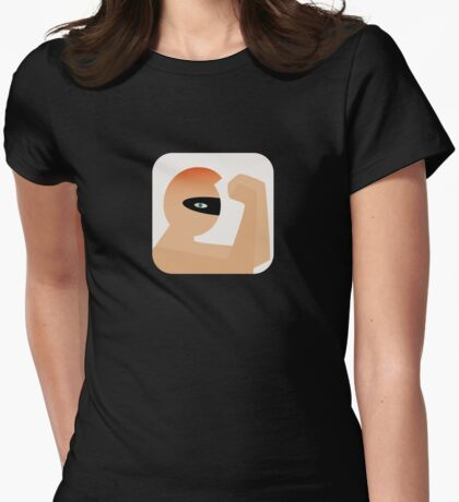 Now Apps What I Call Eurythmics Touch Womens Fitted T-Shirt