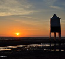 Light-House Sunset by Kevin Cotterell