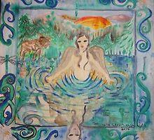 Mermaid of Pearl Lakes by M.Crowningshield Sacred Holistic Arts