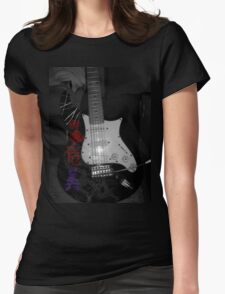 Stratocaster Womens Fitted T-Shirt