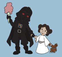 Darth Father and Daughter Kids Clothes