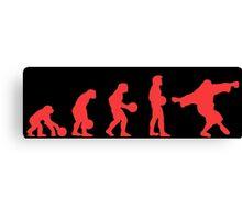 Lebowki evolution red Canvas Print