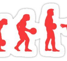 Lebowki evolution red Sticker