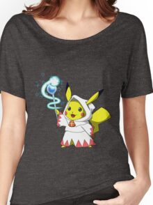 White Mage Pikachu Women's Relaxed Fit T-Shirt