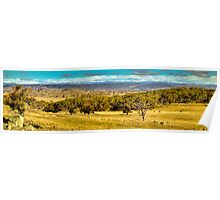 Snowy Mountains - Drive to Mount Selwyn 3 Poster
