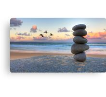 Granite Zen Canvas Print