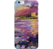 Evening Light at Eilean Donan Castle iPhone Case/Skin