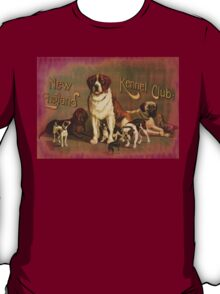 New England Kennel Club Vintage painting T-Shirt