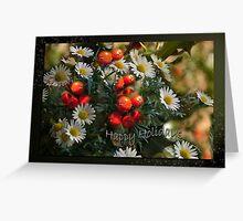 Daisies and Holy - Holidays greeting card Greeting Card